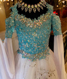 """Couture Elsa""... An Elsa Inspired Couture Gown"