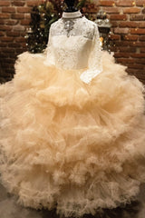 """Calypso Nightfall""... An Exquisite Special Occasion Gown. The Perfect Flower Girl Dress!"