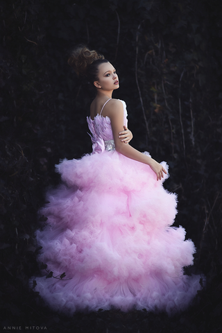 """Blissfull Pirouette""... A Stunning Couture Ball Gown"