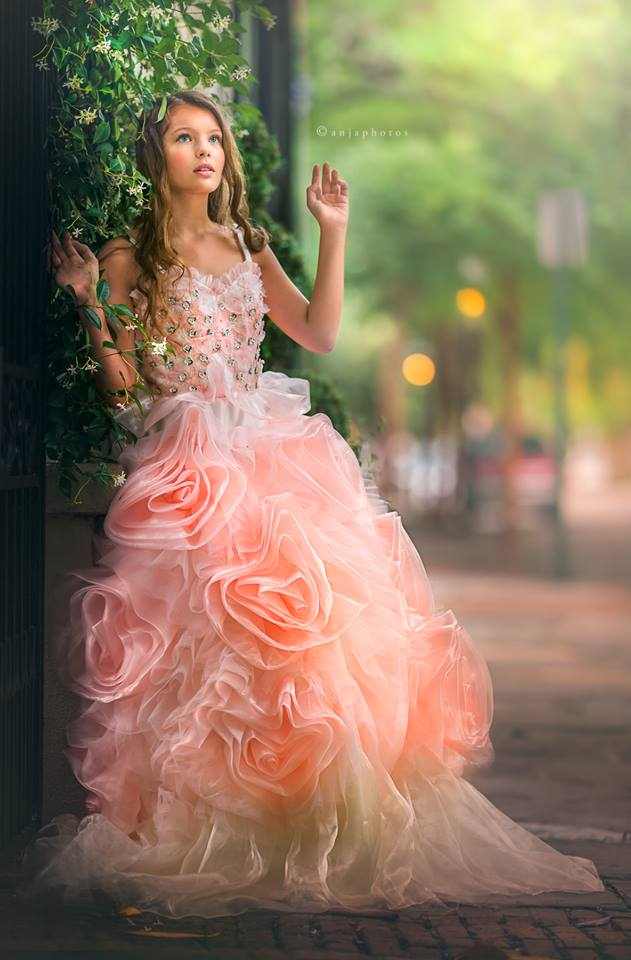"""Dreams Of Vienna""... A Captivating Special Occasion Gown"
