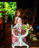 """Timeless Luxe""... A Beautiful Special Occasion Gown/Flower Girl Dress"
