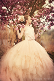 """A Beautiful Memoir""... A Stunning Couture Flower Girl Gown"