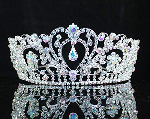 """The Penelope""... A Beautiful Austrian Crystal Crown/Tiara"