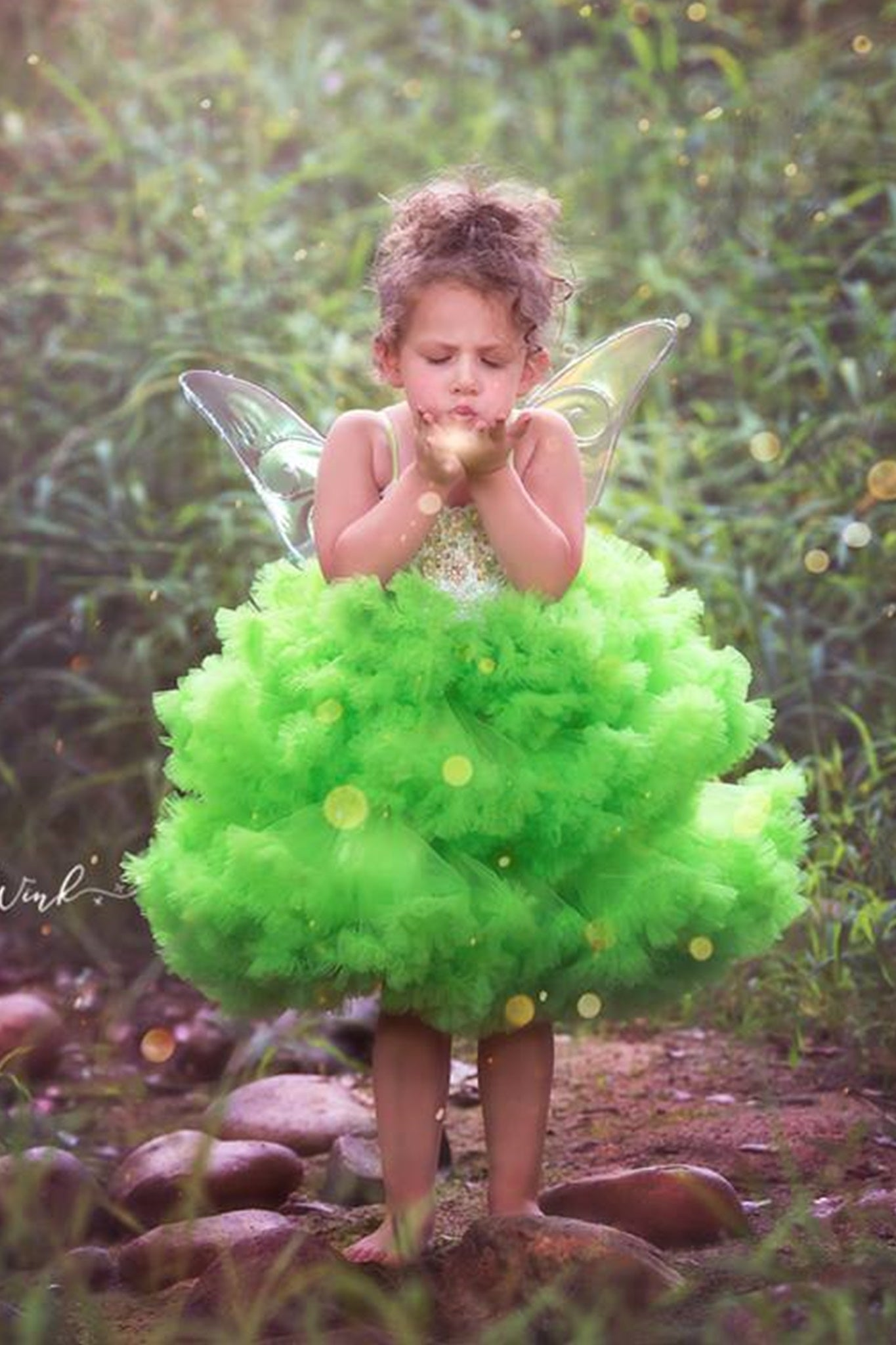 Deluxe Tinkerbell Costume/Fairy Costume