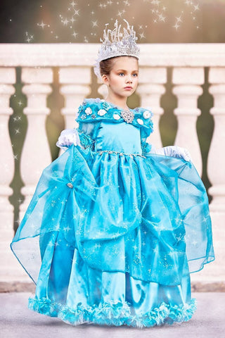 Cinderella Disney-Inspired Girls Ball Gown
