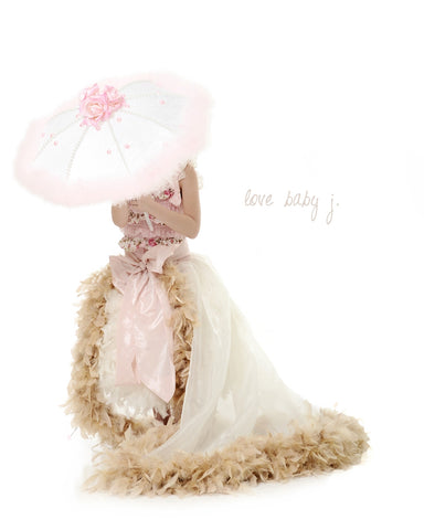 Vintage Lace Embellished Parasol... Perfect Couture Accessories