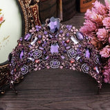 """The Diana""... A Stunning Crown/Tiara In Shades Of Violet"