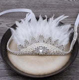 """The Aria""... An Exquisite Rhinestone Crown Headband"