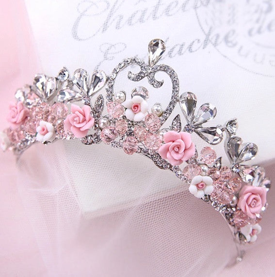 """The Margot""... A Beautiful Hand-Made Princess Crown"