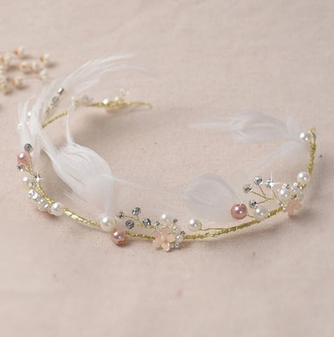 """The Abigail""... A Dainty Hand-Made Princess Crown/Tiara"