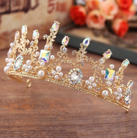 """The Rosa""... A Beautiful Bridal Crown/Tiara"