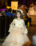"""Mi Amor""... A Luxurious Special Occasion Gown/Flower Girl Gown"