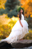"""A Lace Fairytale""... A Beautiful Lace Special occasion Dress"