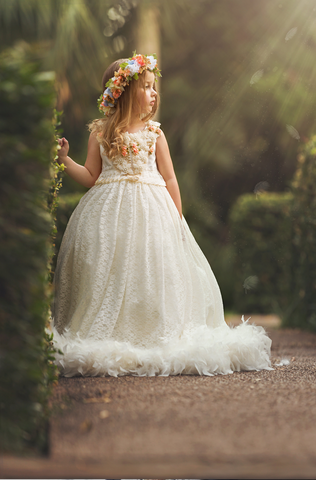 """Mystic Lullabye"".... A Beautiful Lace Special Occasion Dress"