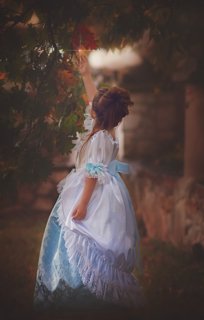 """Storybook Princess"" ... one of our girls couture princess dresses"