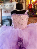 """Captivating Orchid"" A Luxurious Tulle Ballgown"