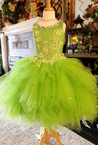 Luxurious Tinkerbell Inspired Dress