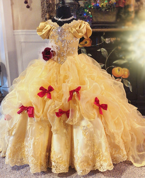 Quot Beautiful Belle A Gorgeous Disney Princess Inspired Gown