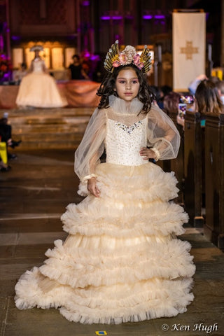 """Forever Yours""... A Luxurious Flower Girl/Special Occasion Gown"