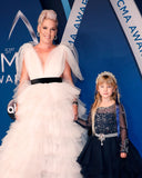 """Vogue Enchantment""... Worn by Miss Willow. Music Icon Pink's Daughter At The CMA Awards!"
