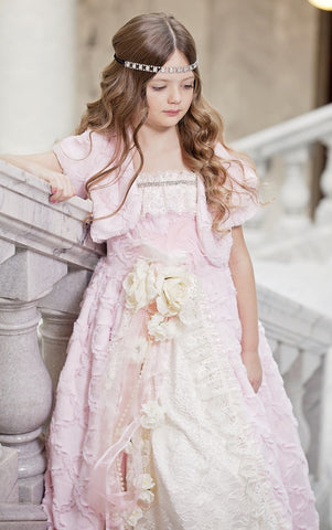 Heavenly Minky Fur Bolero/Shrug -  Children's Couture Clothing