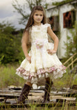 """The English Tea Garden""...A Vintage Flower Girls Dress"
