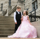 """Old Hollywood""... A Beautiful Organza Special Occasion Gown"