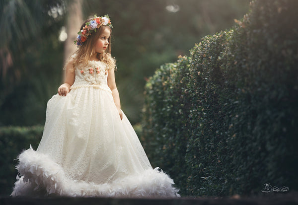 Mystic Beauty: Artful Wedding Dress