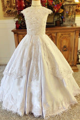"""Elegance is Everything""... A Luxurious Custom Communion Gown"