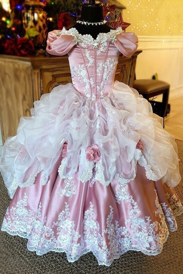 """Ballroom Dreams""... A Stunning Girls Ballgown"