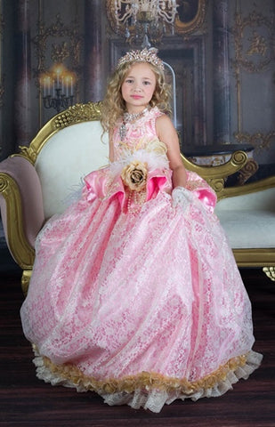 """Tres Belle""... An Elegant Flower Girl and Special Occasion Gown"
