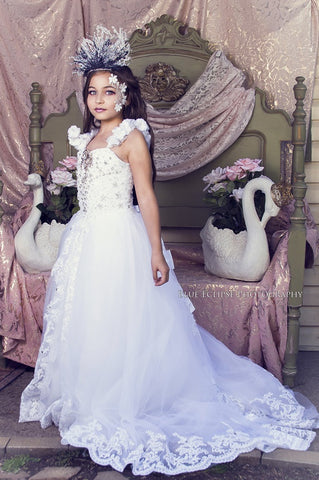 """Majestic Angel""... An Exquisite Communion & Flower Girl Dress"