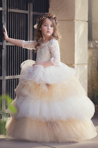 """Caramel Dreams""... A One Of A Kind Special Occasion Gown"