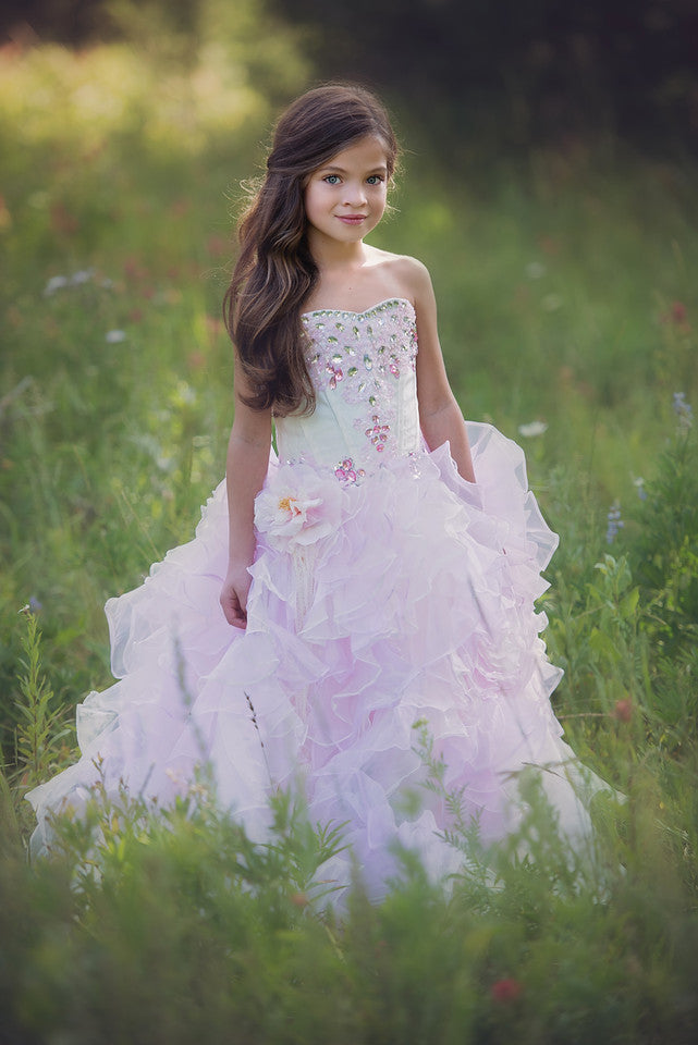 """Gala Grandeur""... A Couture Girls Pageant and Special Occasion Dress"