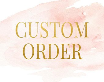 Custom Order For Viktoriya