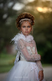 """Radiant Moondust""... A Gorgeous Flower Girl/Special Occasion Gown"