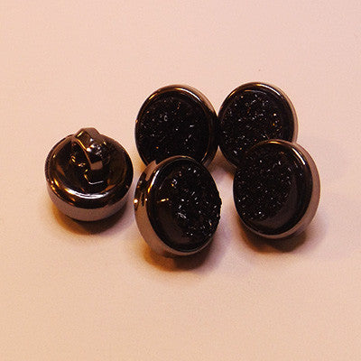 Metallic Crystal Buttons