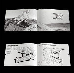 LET'S RIDE MOTOCROSS COLORING & ACTIVITY BOOK