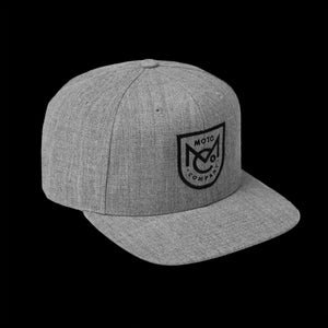 MONOGRAM HEATHER SNAPBACK
