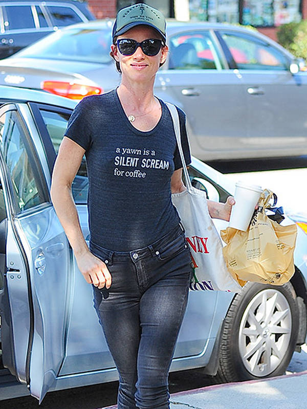Juliette Lewis in Electric & Rose Time to Live Hat