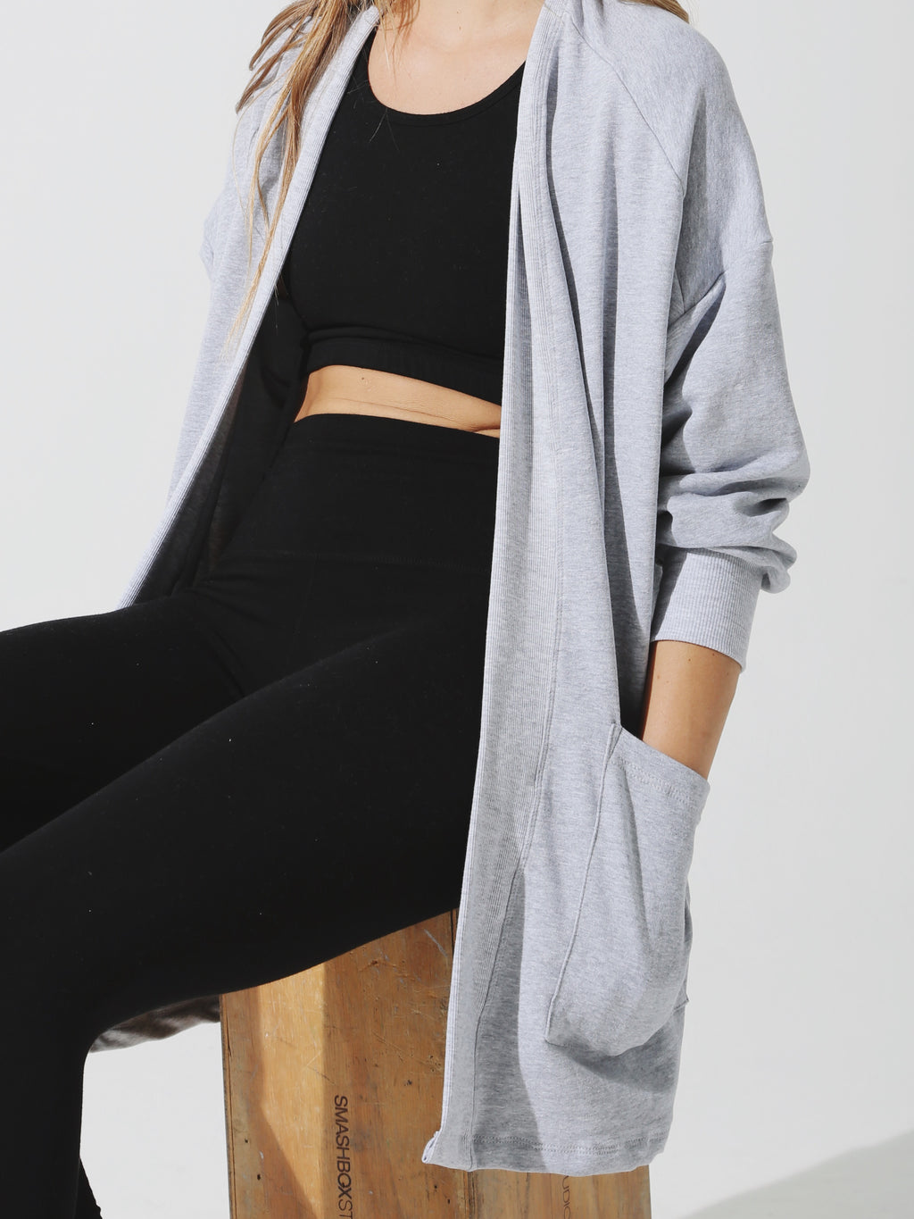 Cordova Cardigan - Heather Grey