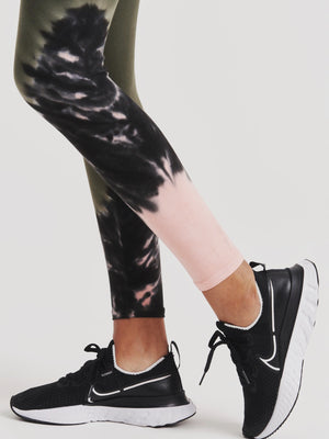 Sunset Legging - Laurel / Melon / Onyx
