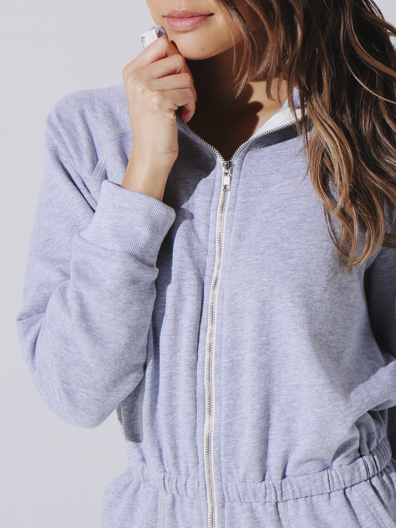 Mojave Jumpsuit - Heather Grey