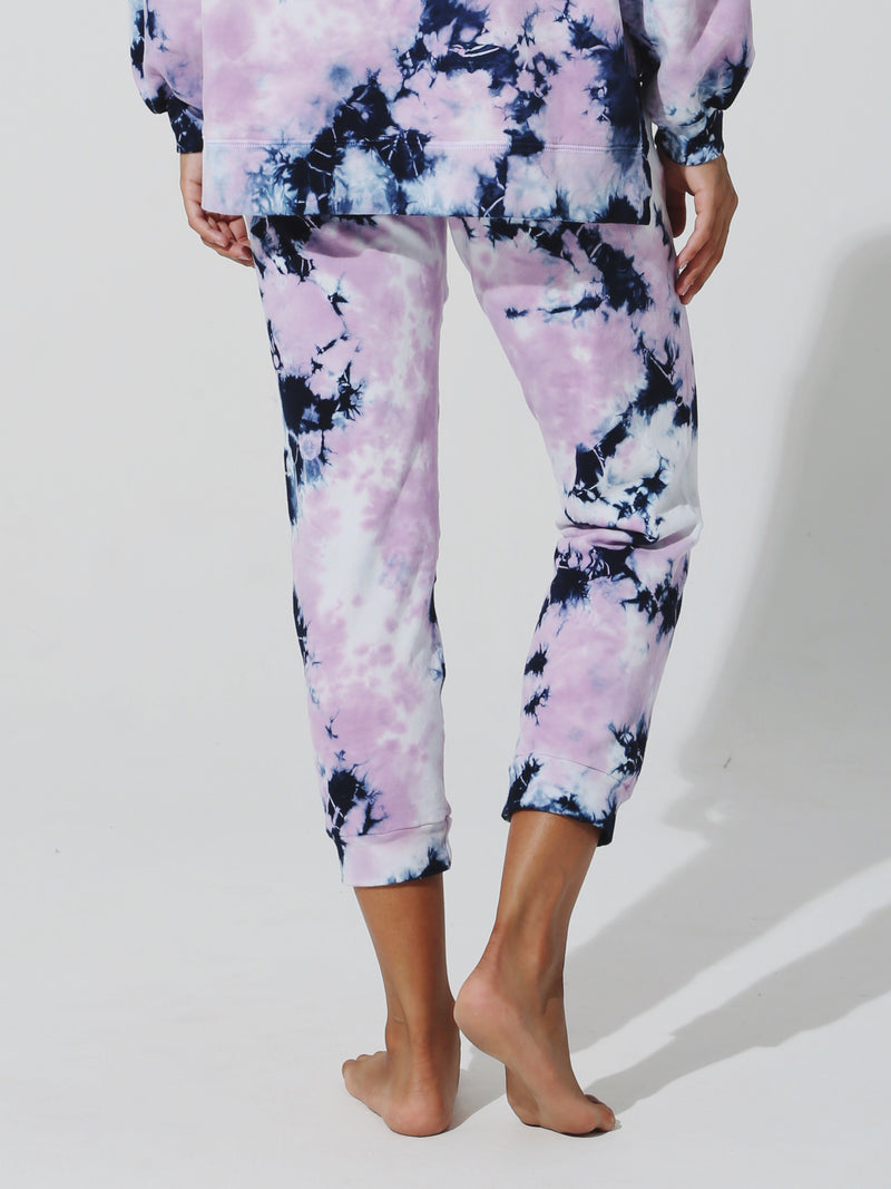 Abbot Kinney Sweatpant - Ink / Lavender