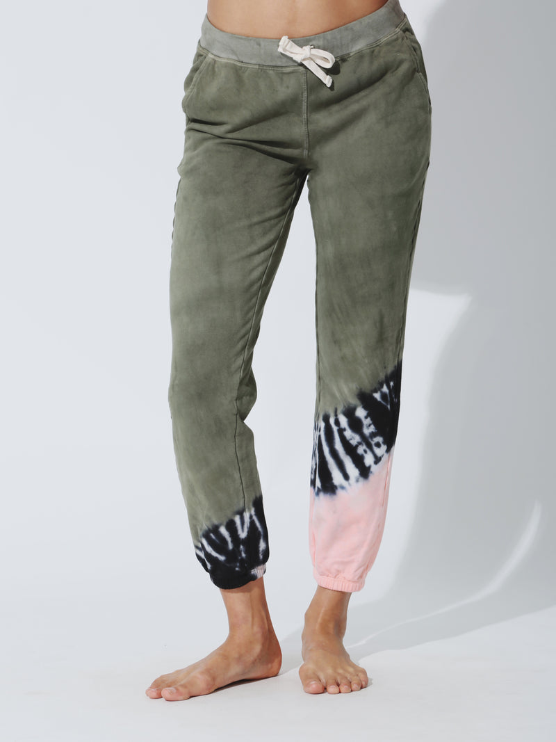 Vendimia Jogger - Laurel / Melon / Onyx