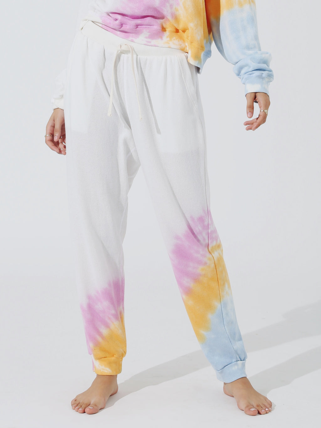Harbor Sweatpant - Cloud / Peony / Serene