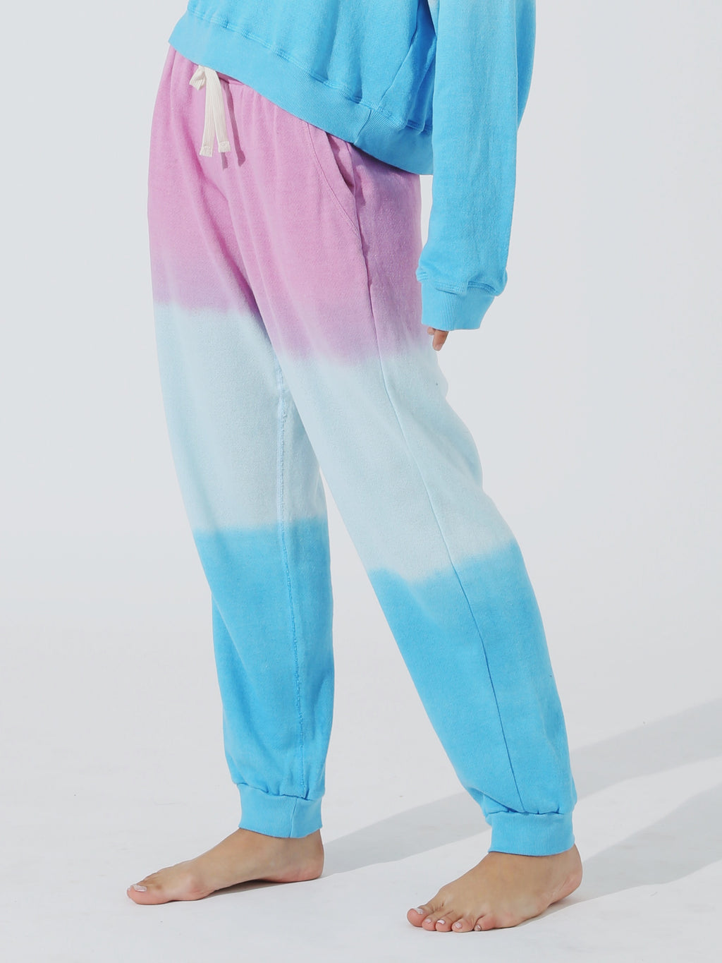 Harbor Sweatpant - Lilac / Sea Salt / Azul