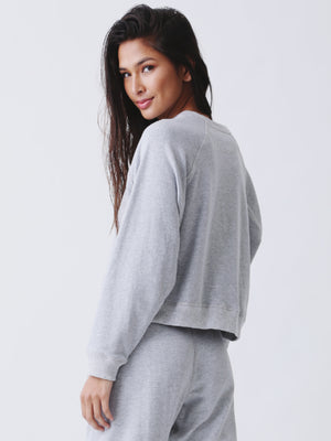 Ronan Pullover - Heather Grey