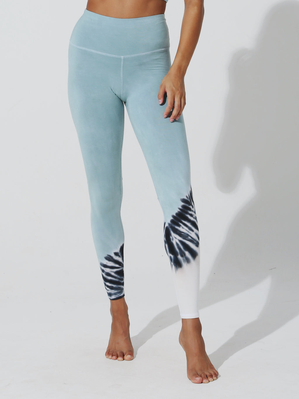 Sunset Legging - Sage / Cloud / Onyx