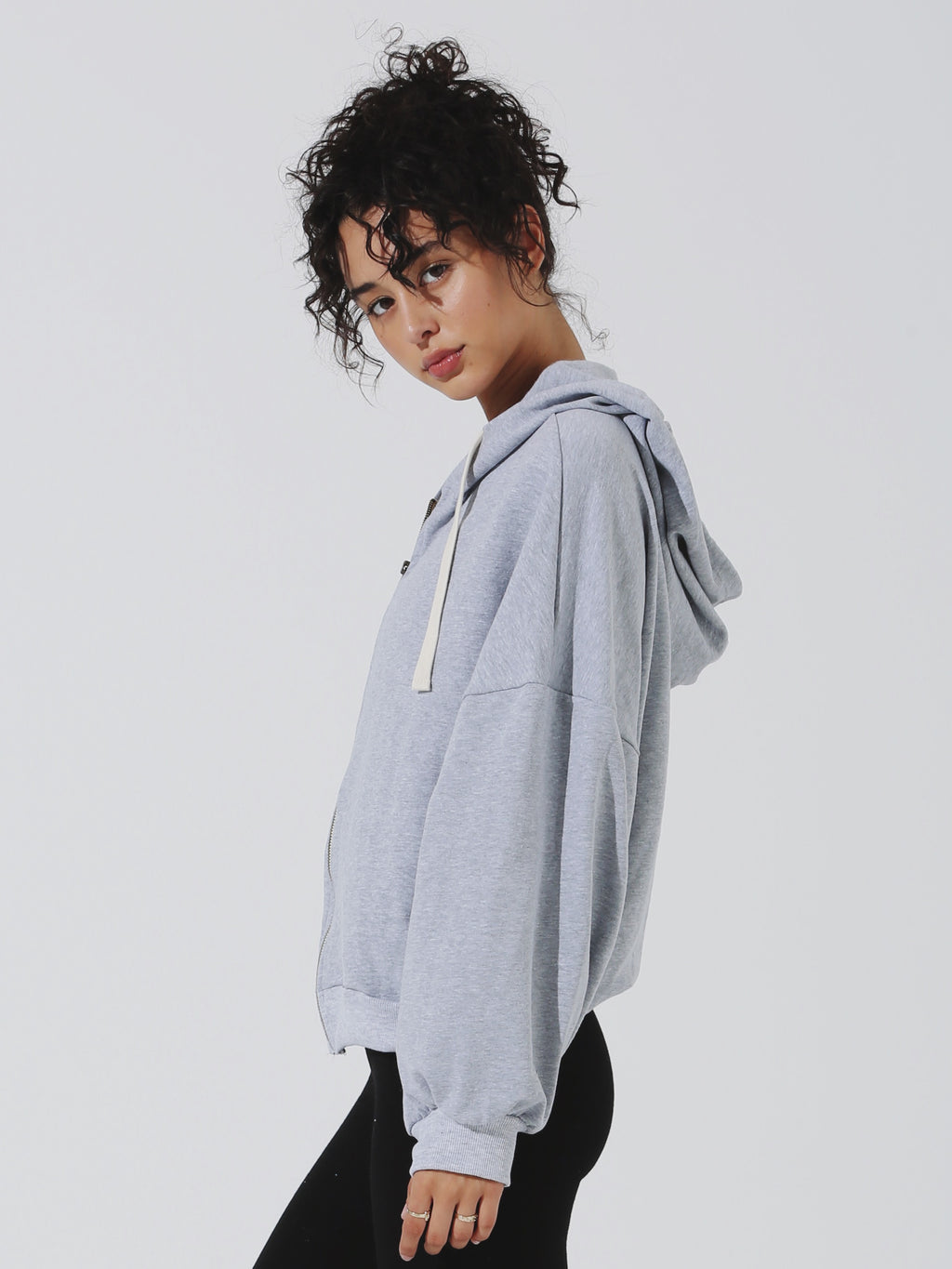 Runyon Hoodie - Heather Grey